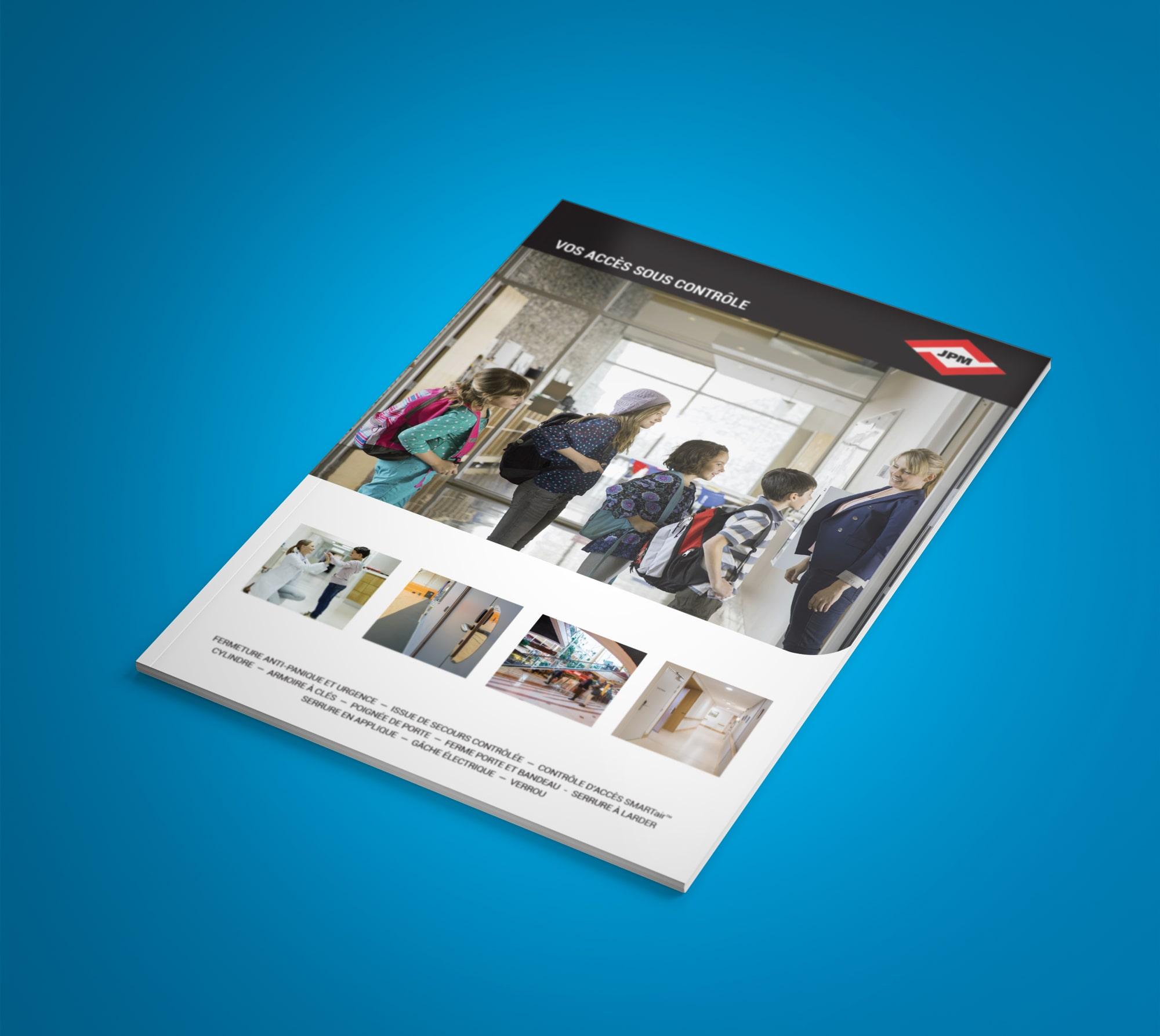 Création d'une brochure pour JPM