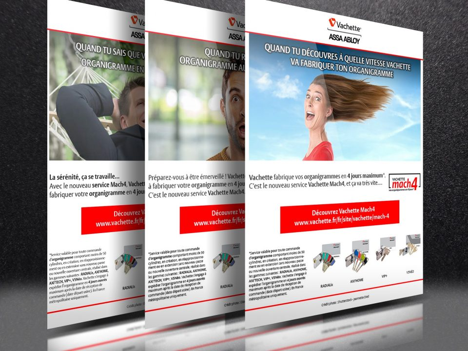 Campagne emailing Vachette ASSA ABLOY